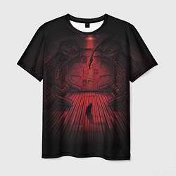 Мужская 3D-футболка с принтом Alien: Space Ship, цвет: 3D, артикул: 10111590803301 — фото 1