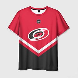 Футболка мужская NHL: Carolina Hurricanes цвета 3D — фото 1