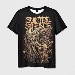 Футболка мужская Suicide Silence цвета 3D — фото 1
