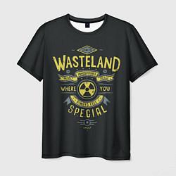 Футболка мужская Come to Wasteland цвета 3D-принт — фото 1