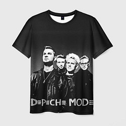 Футболка мужская Depeche Mode: mono цвета 3D — фото 1