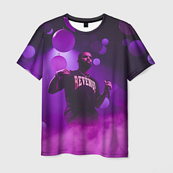Футболка мужская Drake: Revenge цвета 3D — фото 1