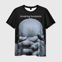 Футболка мужская Breaking Benjamin: Pain цвета 3D — фото 1