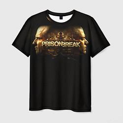 Футболка мужская Prison break цвета 3D-принт — фото 1