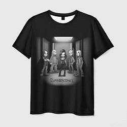 Футболка мужская Evanescence Band цвета 3D-принт — фото 1