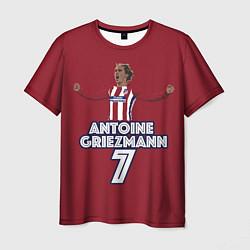 Футболка мужская Antoine Griezmann 7 цвета 3D — фото 1