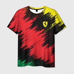 Футболка мужская Ferrari: True Colors цвета 3D — фото 1