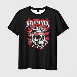 Футболка мужская Stigmata Skull цвета 3D — фото 1