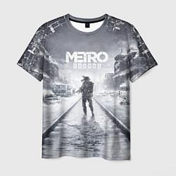 Футболка мужская Metro Exodus цвета 3D — фото 1