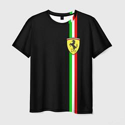 Футболка мужская Ferrari: Italia цвета 3D — фото 1