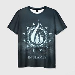 Футболка мужская In Flames: Cold Fire цвета 3D-принт — фото 1
