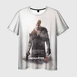 Футболка мужская Uncharted 4: Nathan цвета 3D-принт — фото 1