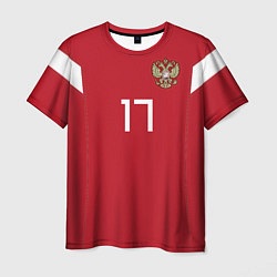 Футболка мужская Сборная России: Головин ЧМ-2018 цвета 3D-принт — фото 1