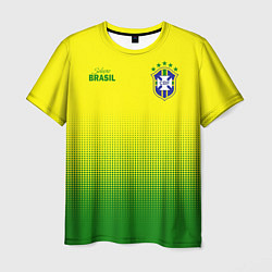 Футболка мужская CBF Brasil цвета 3D — фото 1