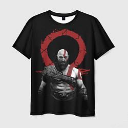 Футболка мужская God of War IV цвета 3D — фото 1