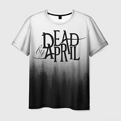 Футболка мужская Dead by April цвета 3D — фото 1