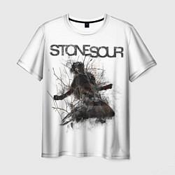 Футболка мужская Stone Sour: Rage цвета 3D — фото 1