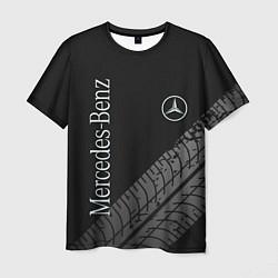 Мужская 3D-футболка с принтом Mercedes AMG: Street Style, цвет: 3D, артикул: 10174393903301 — фото 1