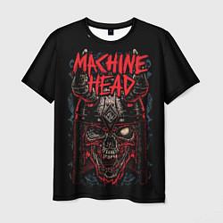 Футболка мужская Machine Head: Blooded Skull цвета 3D-принт — фото 1