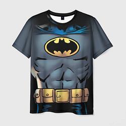 Футболка мужская Batman костюм цвета 3D-принт — фото 1