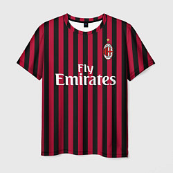 Футболка мужская Ibrahimovic home 19-20 цвета 3D-принт — фото 1