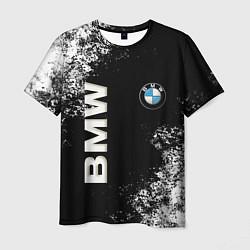 Футболка мужская BMW цвета 3D — фото 1