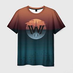 Футболка мужская Westworld цвета 3D — фото 1