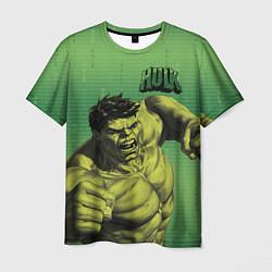 Футболка мужская Hulk цвета 3D-принт — фото 1