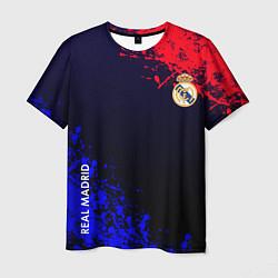 Футболка мужская Real Madrid цвета 3D-принт — фото 1