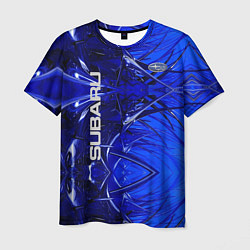 Мужская 3D-футболка с принтом Subaru, цвет: 3D, артикул: 10266596903301 — фото 1