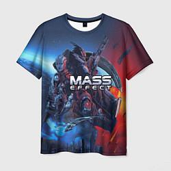 Футболка мужская Mass EFFECT Legendary ed цвета 3D-принт — фото 1