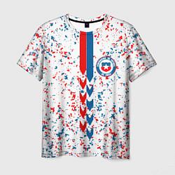 Футболка мужская Сборная Чили цвета 3D-принт — фото 1
