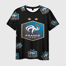 Футболка мужская Сборная Франции цвета 3D-принт — фото 1