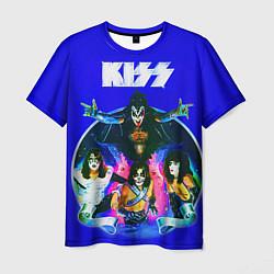 Футболка мужская Kiss Show цвета 3D — фото 1