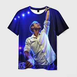 Мужская 3D-футболка с принтом Armin Van Buuren, цвет: 3D, артикул: 10086114803301 — фото 1