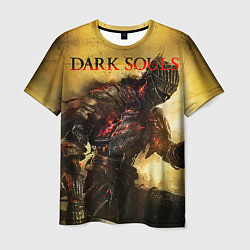 Футболка мужская Dark Souls: Braveheart цвета 3D-принт — фото 1