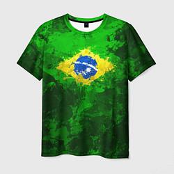 Футболка мужская Бразилия цвета 3D — фото 1