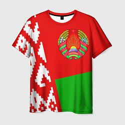Футболка мужская Патриот Беларуси цвета 3D-принт — фото 1