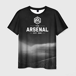 Футболка мужская The Arsenal 1886 цвета 3D-принт — фото 1
