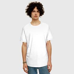 Футболка оверсайз мужская Jah Khalib цвета белый — фото 2