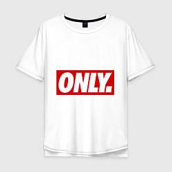 Футболка оверсайз мужская Only Obey цвета белый — фото 1
