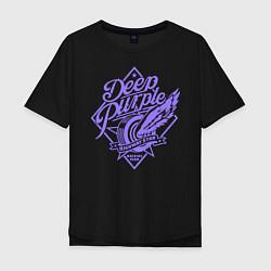 Футболка оверсайз мужская Deep Purple: Highway Star цвета черный — фото 1