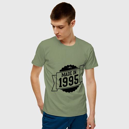 Мужская футболка Made in 1995 / Авокадо – фото 3