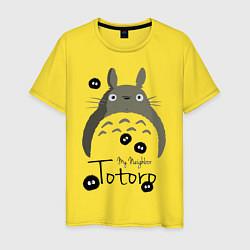 Футболка хлопковая мужская My Neighbor Totoro - фото 1
