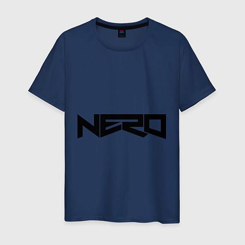 Мужская футболка Nero / Тёмно-синий – фото 1