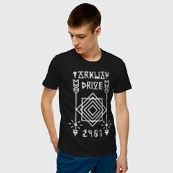 Футболка хлопковая мужская Parkway Drive: 2481 цвета черный — фото 2