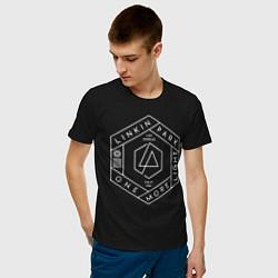 Футболка хлопковая мужская Linkin Park: One More Light цвета черный — фото 2