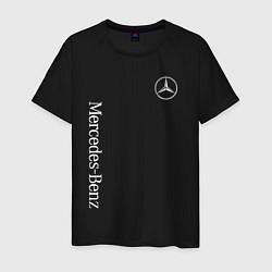 Футболка хлопковая мужская MERCEDES-BENZ цвета черный — фото 1
