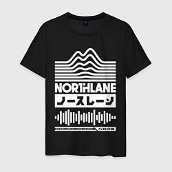 Футболка хлопковая мужская Northlane Music цвета черный — фото 1
