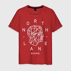 Футболка хлопковая мужская Northlane: Mesmer цвета красный — фото 1